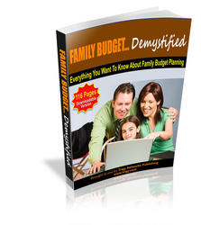 Family Budget Demystified